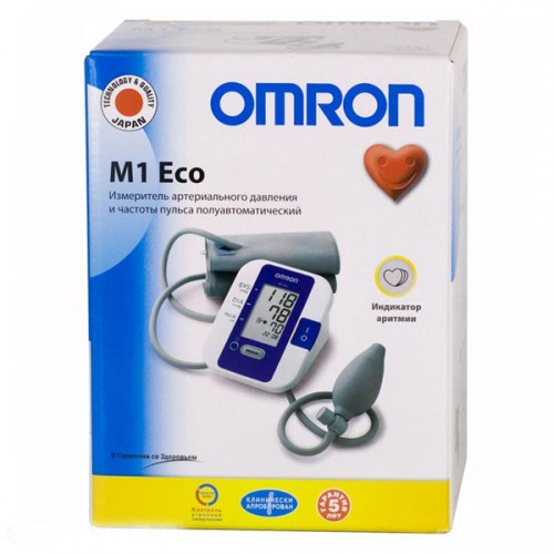 Тонометр Omron M1 Plus Инструкция